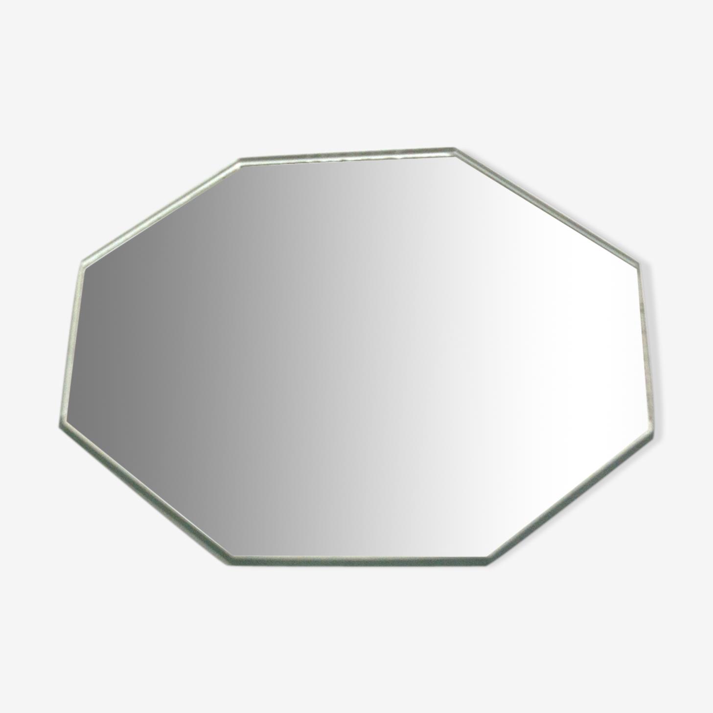 Miroir vintage octogonal 16x16