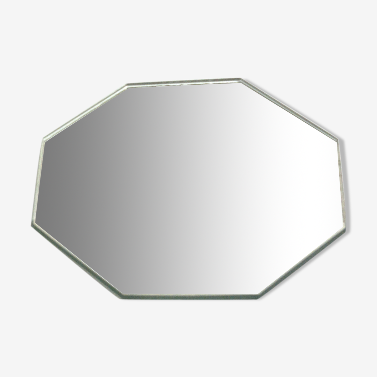 Octagonal vintage mirror 16x16