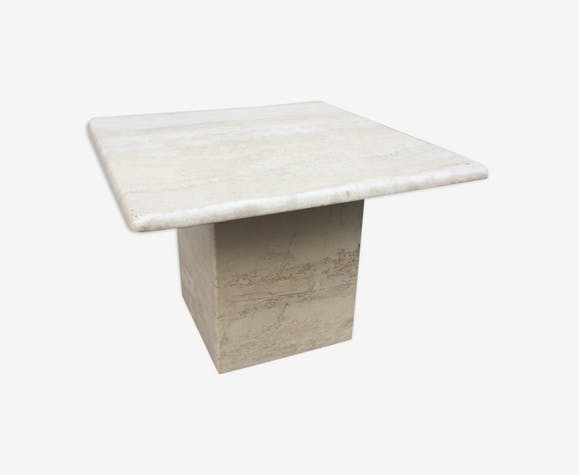 Coffee table travertine 1970
