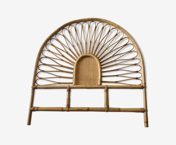 Tête de lit rotin & bambou - rotin et osier - bois (Couleur ...