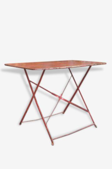 Table de guinguette 1950