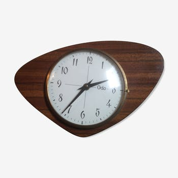 Clock vintage formica