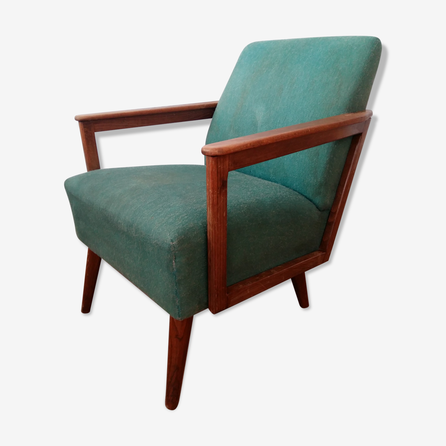 An unique armchair from 1962, produced in the GDR