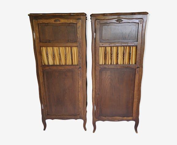 Vintage hat cabinets