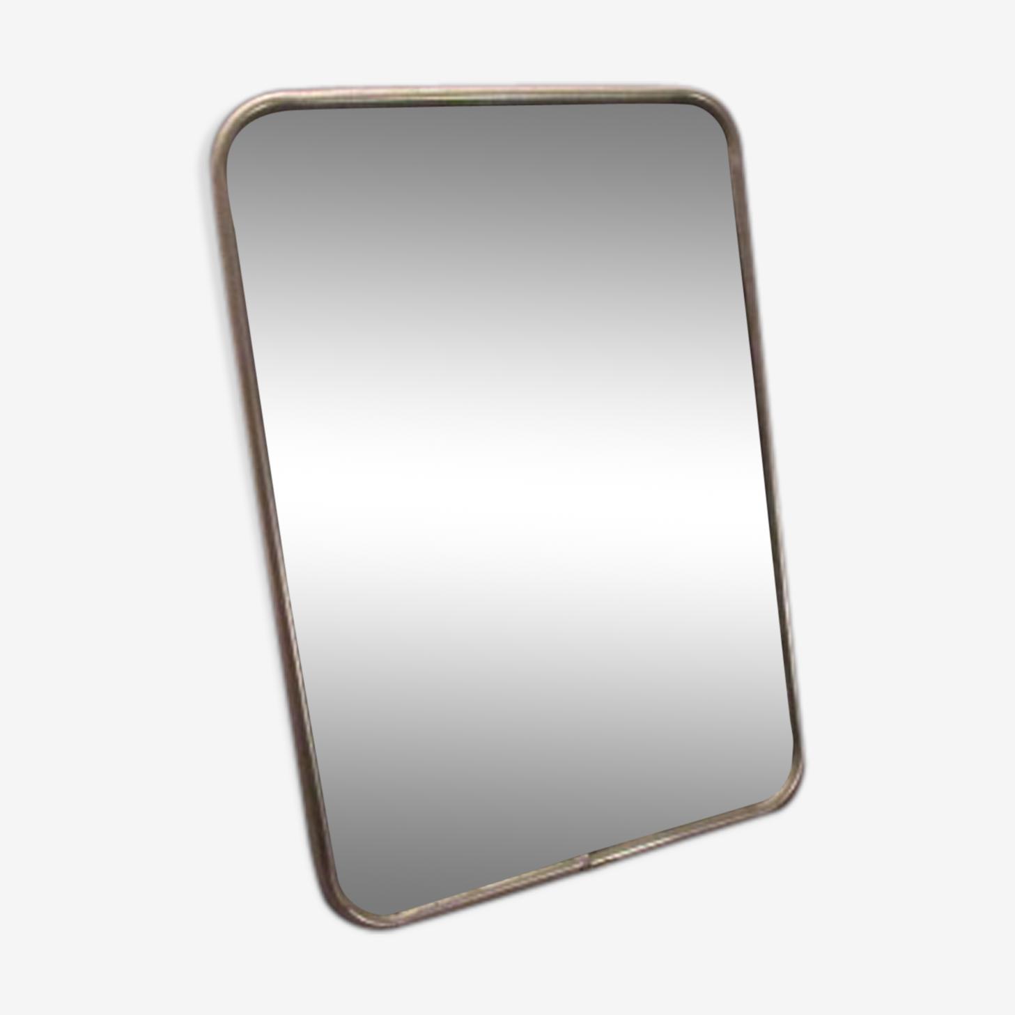 Miroir de barbier ancien 17,5x12,5cm