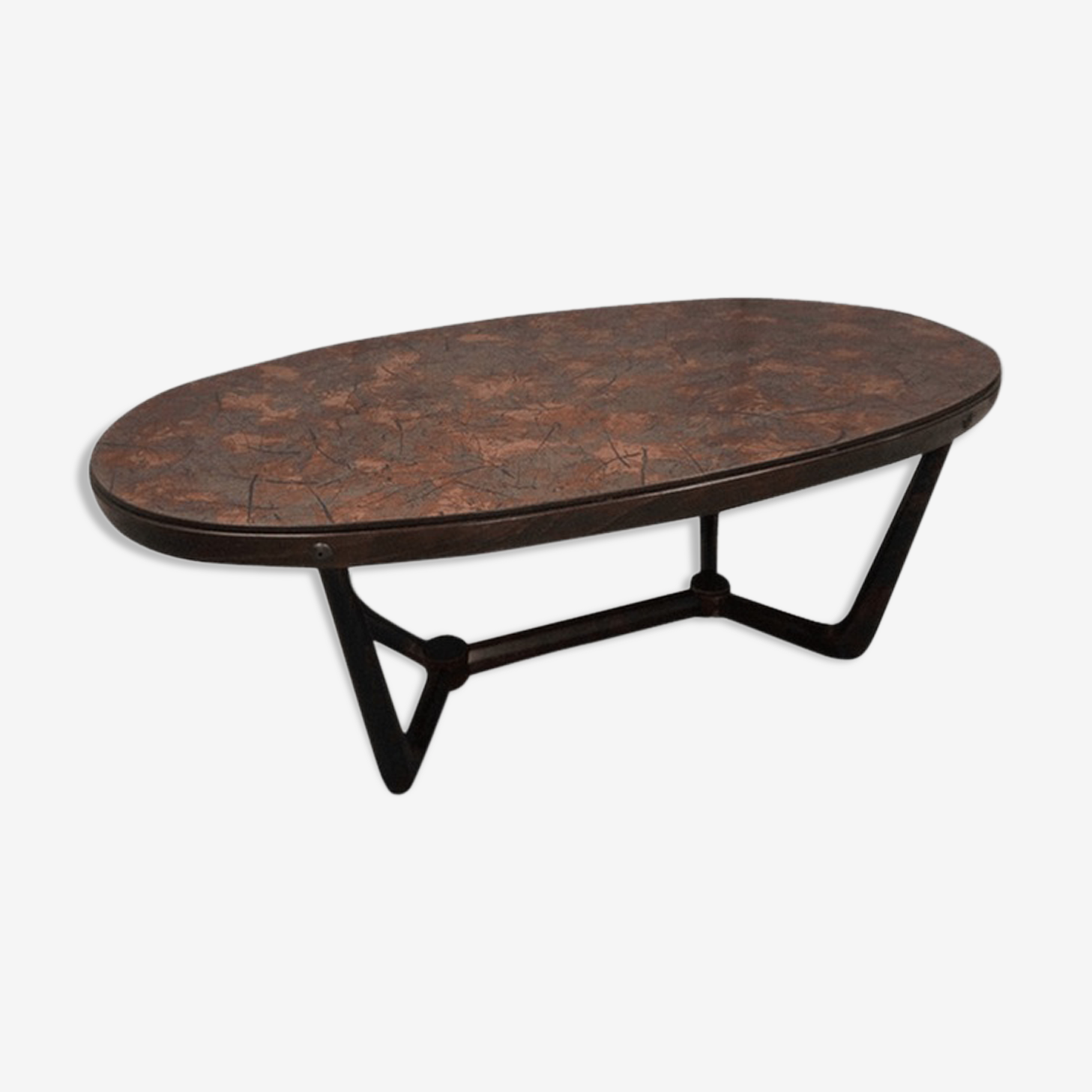 1960 copper coffee table