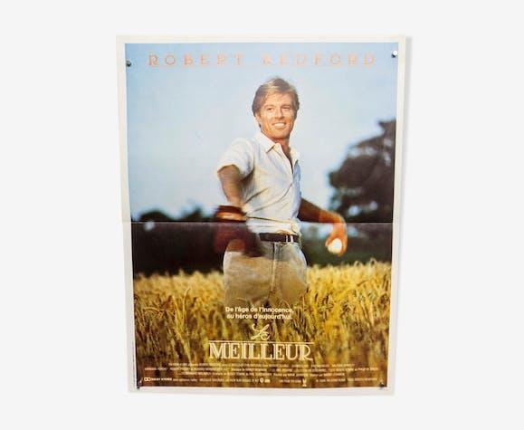 """Affiche 60x40 """"Le meilleur"""" Robert Redford Barry Levinson 1984"""
