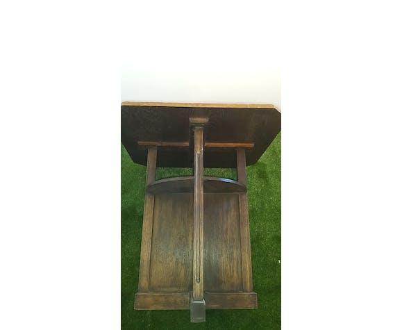 Table en chêne art déco