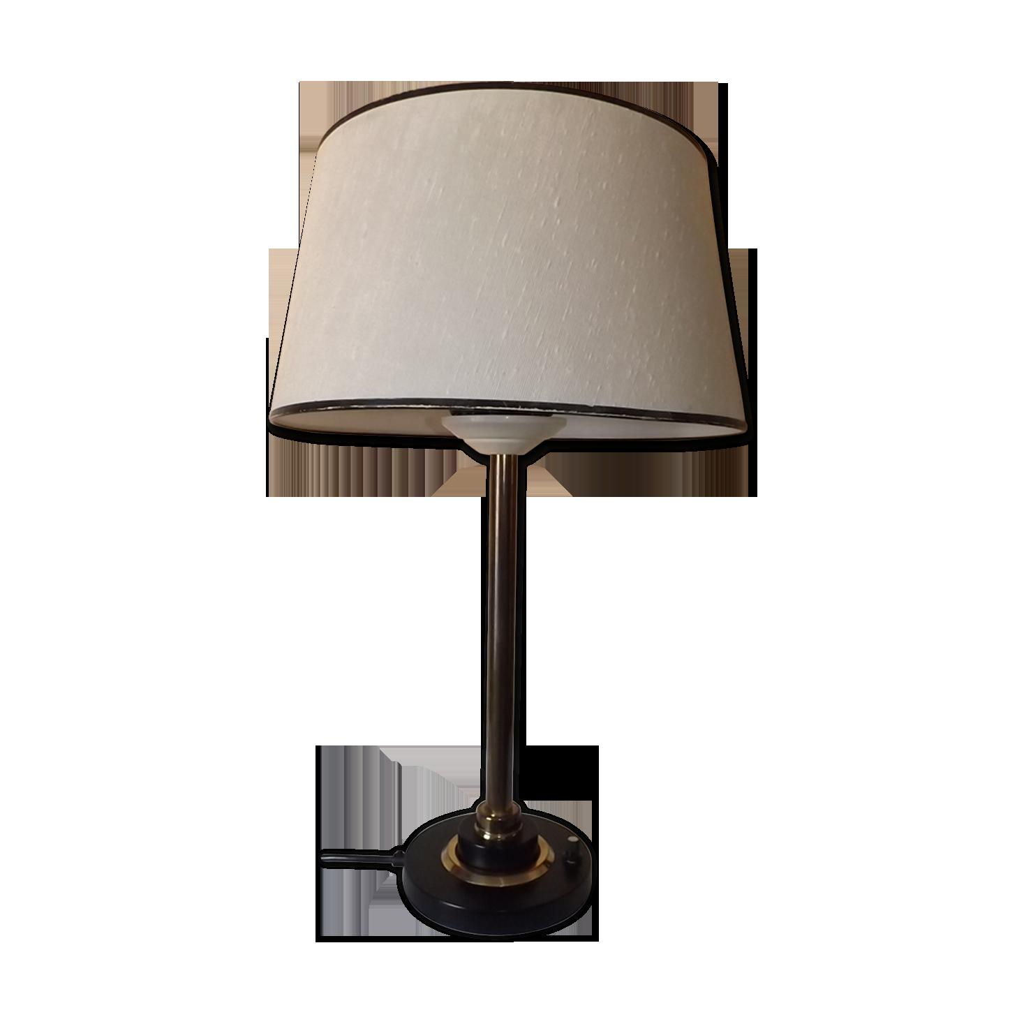 Lampe de bureau maison arlus brass golden vintage vul ynb