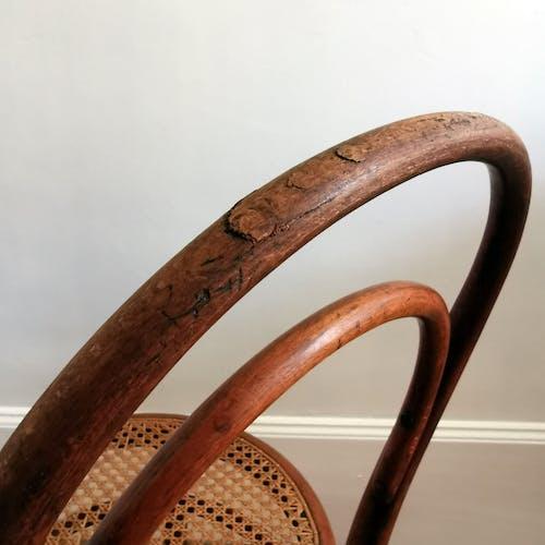 Chaise cannage Thonet n°14, 1860