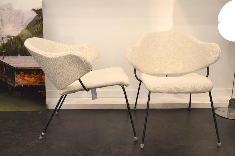 Danish relaxation armchairs around 1950