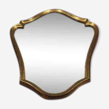 Louis XV-style mirror - 60x48cm