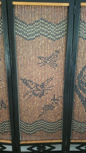 Asian style screen