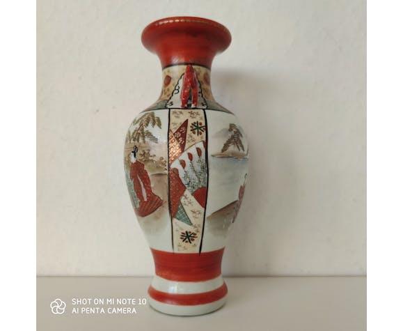 Kutani vase japonais ancien