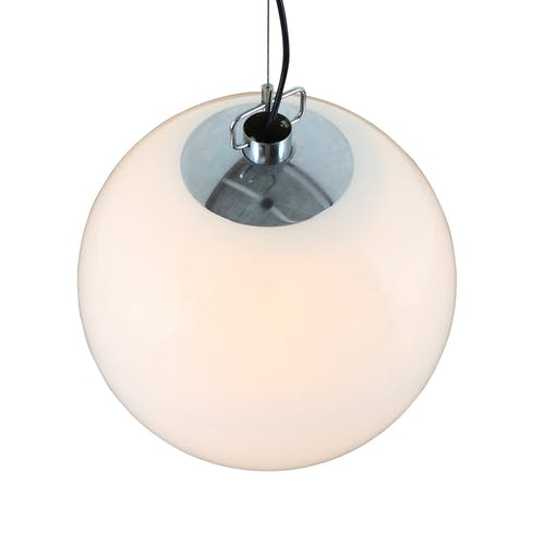 Ochtend Nevel B-1156 XXL globe pendant light by Raak Amsterdam, 1980s