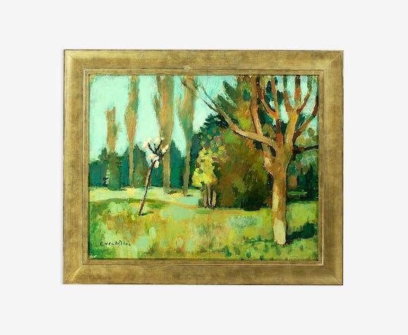 Un Jardin En Lorraine Ernest Ventrillon 1880 1953