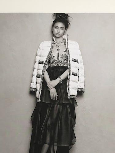 Photo de Karl Lagerfeld pour Chanel - collection 2018