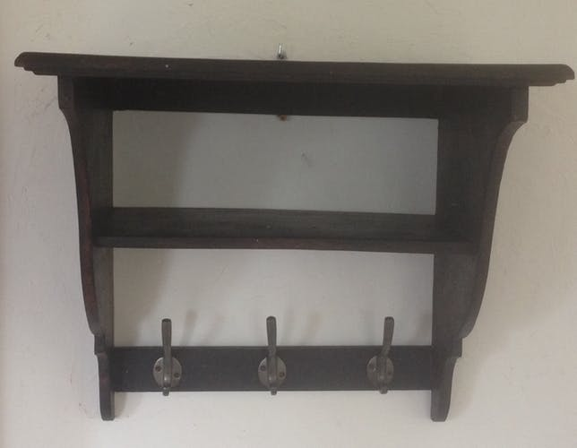 Shelf to double to three year 50 pegs