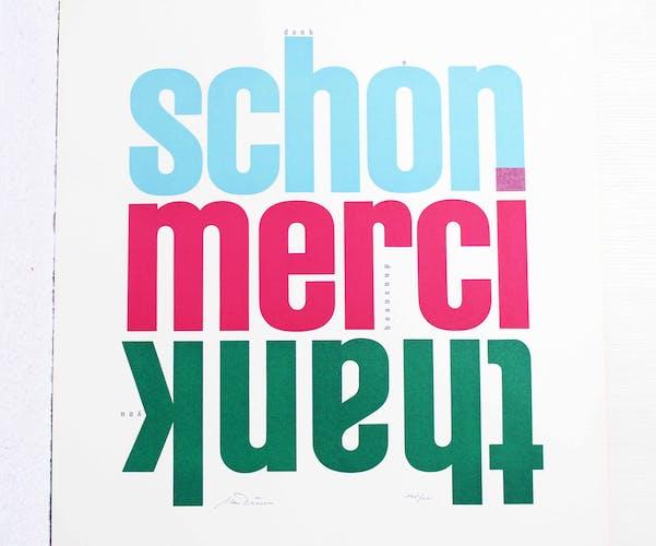 Typographie de Urs Dürr 1976