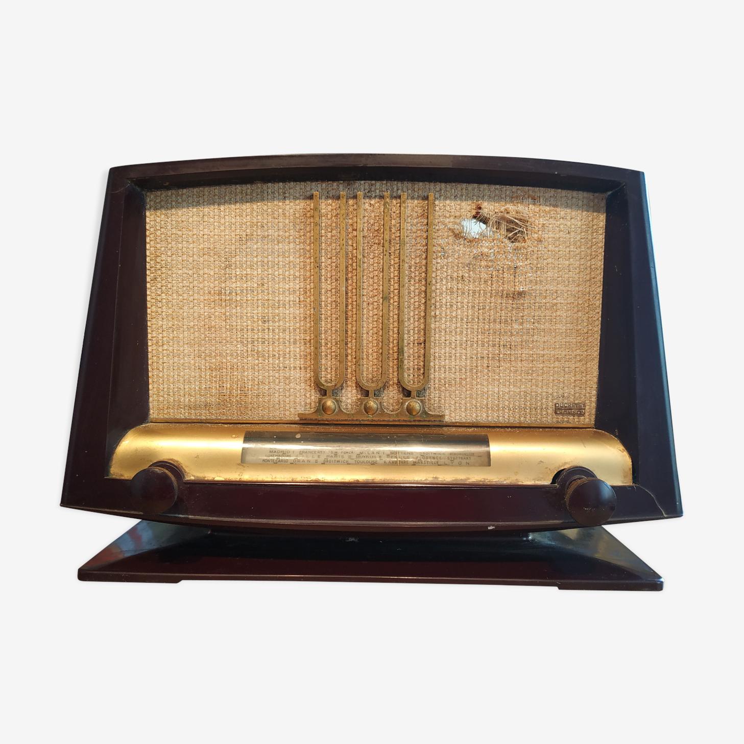 Radio tsf ducretet-thomson France model 1952 l135