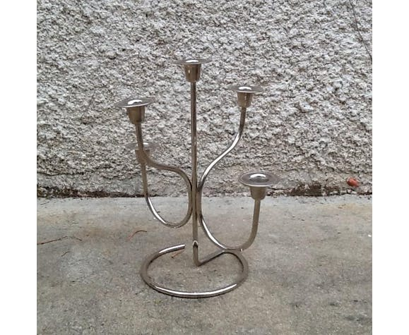 Metal candleholder