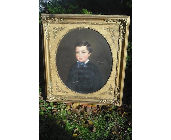 Portrait P Courtey 84x77