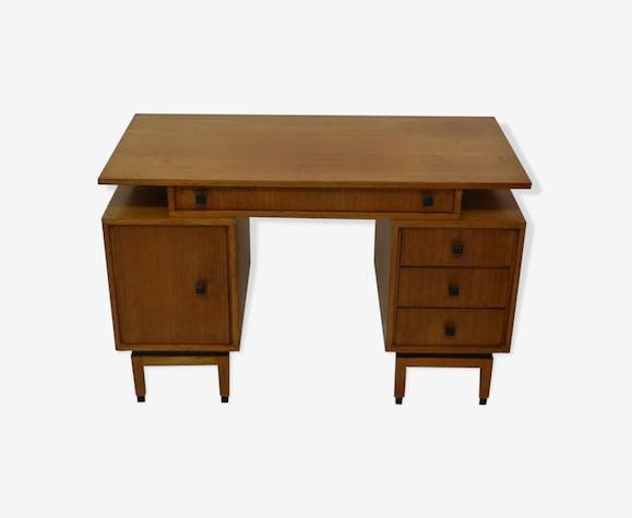 Bureau en bois de rose mdk belgium 1960s bois matériau bois