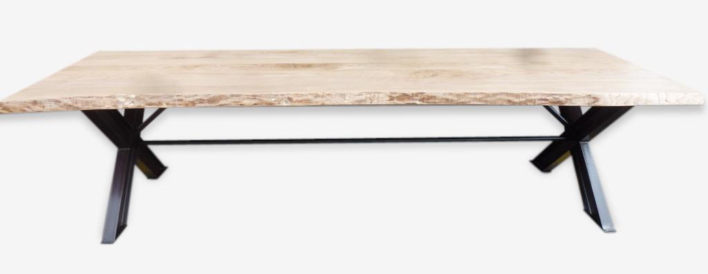 Table Ipn table industrial x ipn raw 3 m ash tray - iron - industrial - 74364