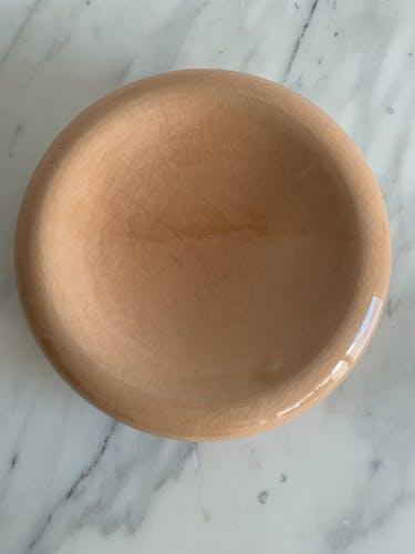 Vide poche céramique orange François Chatain