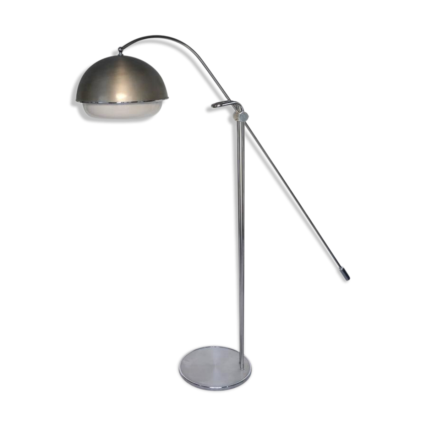 Lampadaire chromé de Iguzzini, années 60