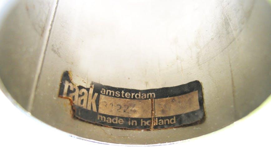 Paire de suspensions RAAK Amsterdam modèle B-1224 de 1968