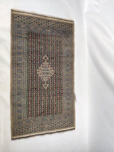 Tapis oriental fait main 140x80cm