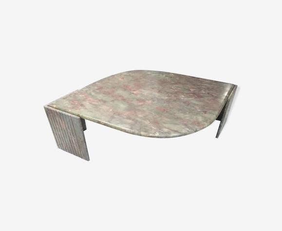 Table Basse De Salon En Marbre Roche Bobois 1970 Marbre