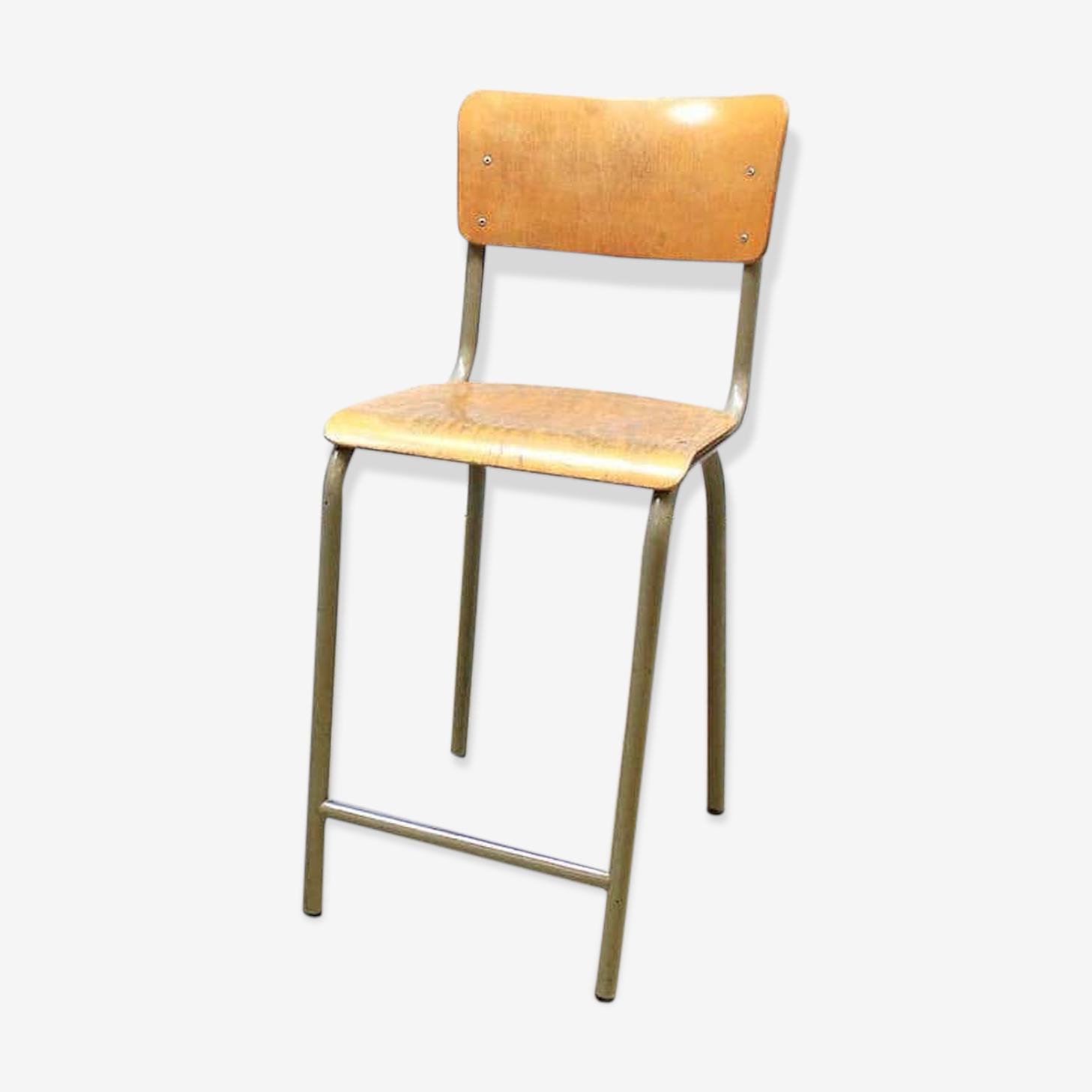 Chaise vintage industrielle