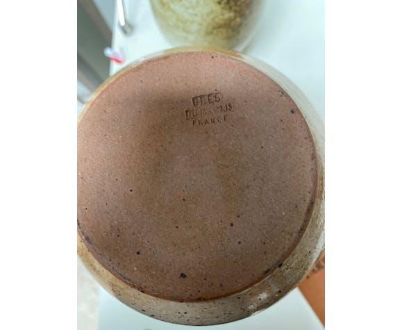 Vase en grès vintage