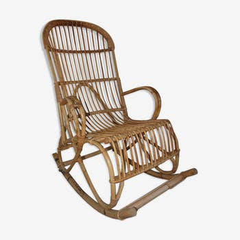 Rocking chair rattan