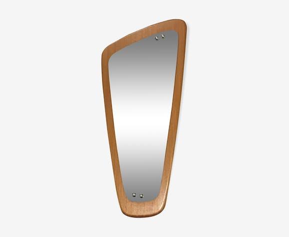 Miroir scandinave de forme libre  76x36cm