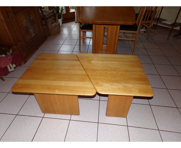 Tables basse en bois de hêtre