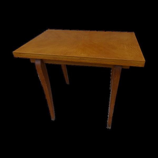Table modulable vintage pliable scandinave