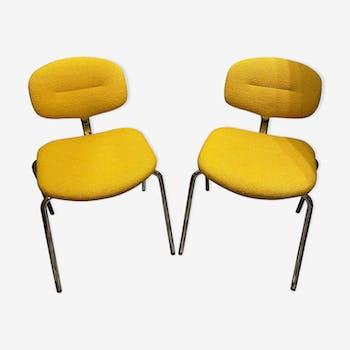 Paire de chaises Steelcase-Strafor