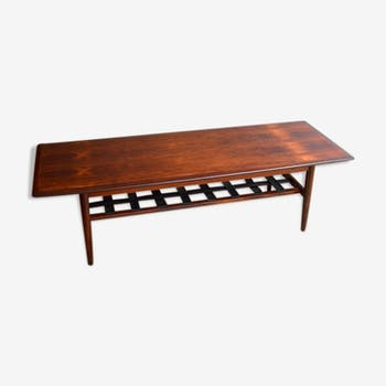 table basse scandinave en palissandre palissandre bois couleur scandinave 49117. Black Bedroom Furniture Sets. Home Design Ideas