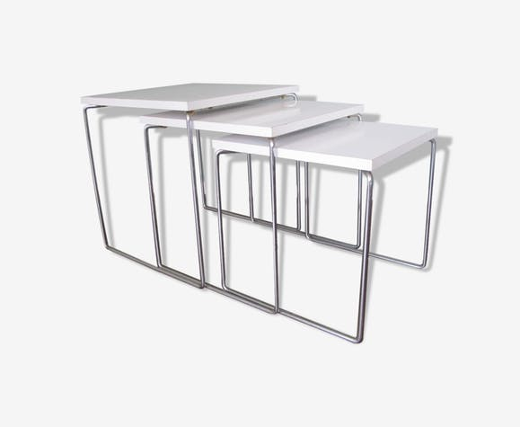 Pull-out tables of Brabantia s 1970