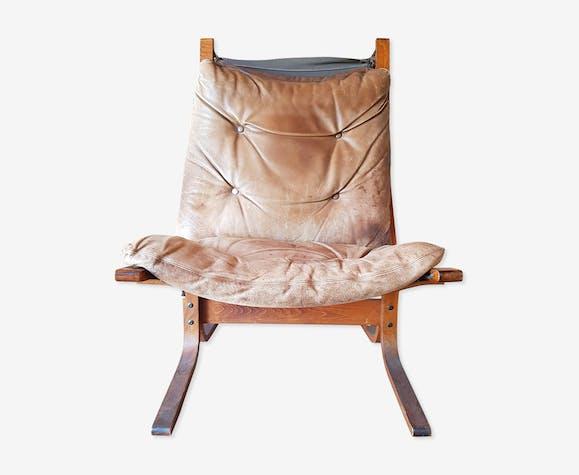 Fauteuil Siesta vintage scandinave Designer Igmar Relling