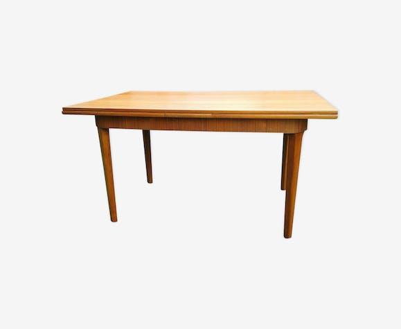 table de salle manger en teck des annes 70