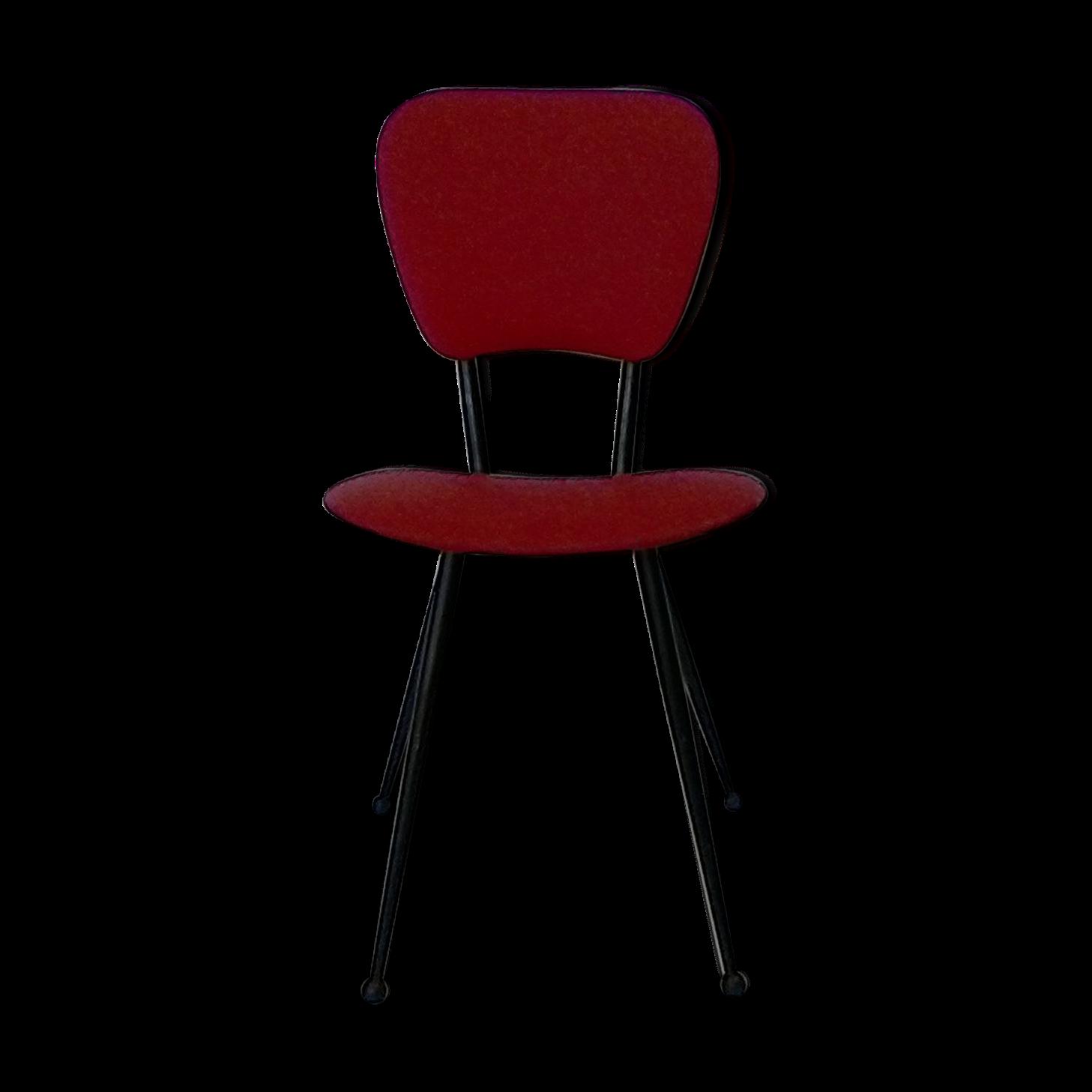 chaise paysanne rouge cheap best chaise cuisine pas cher. Black Bedroom Furniture Sets. Home Design Ideas