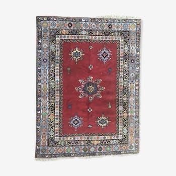tapis chichaoua 190x360cm tissu rouge thnique aokprkk. Black Bedroom Furniture Sets. Home Design Ideas