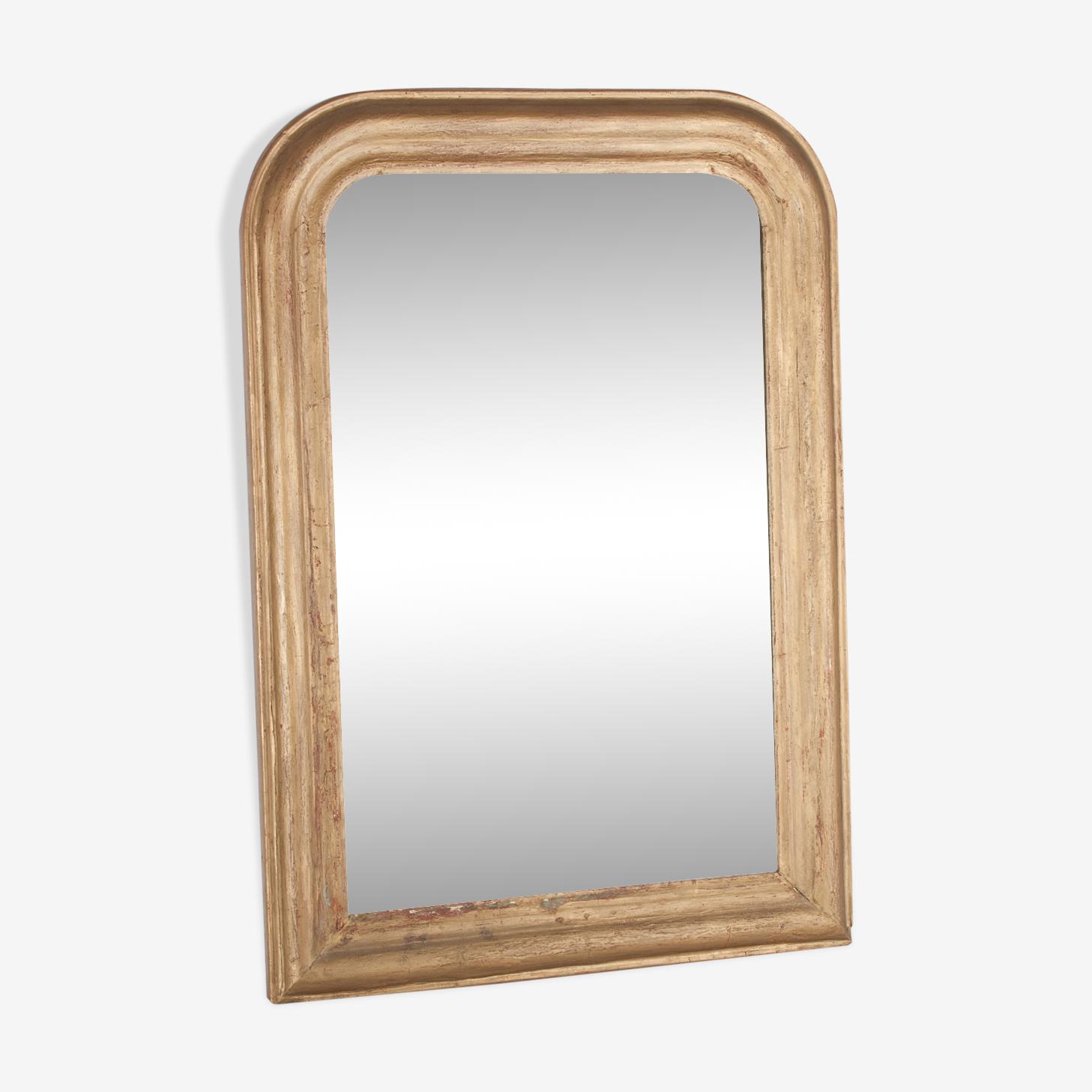Miroir ancien Louis Philippe 82 cm x 59 cm
