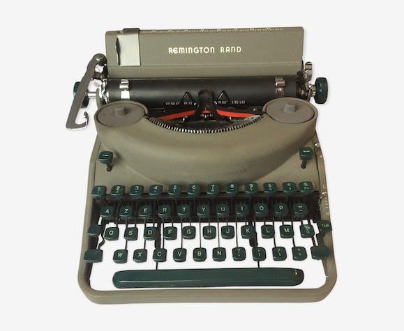 Machine à écrire ancienne remington noiseless portable