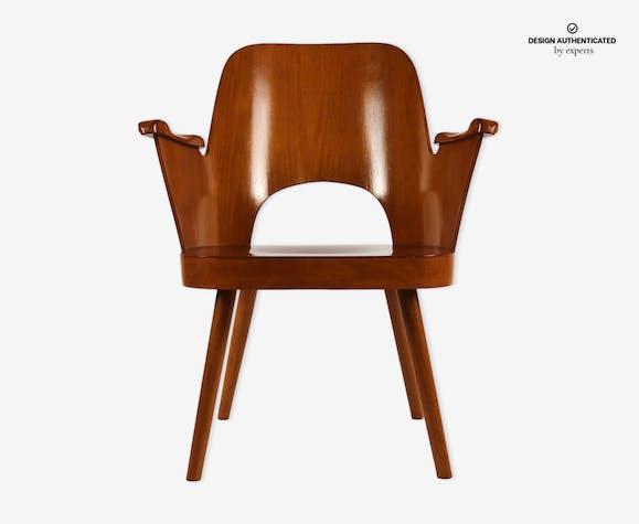 Thonet Bureau Stoel.Fauteuil De Bureau Edition Thonet Design Oswald Haerdtl 1955 Wood