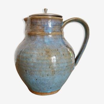Pichet poterie en terre cuite vernissée